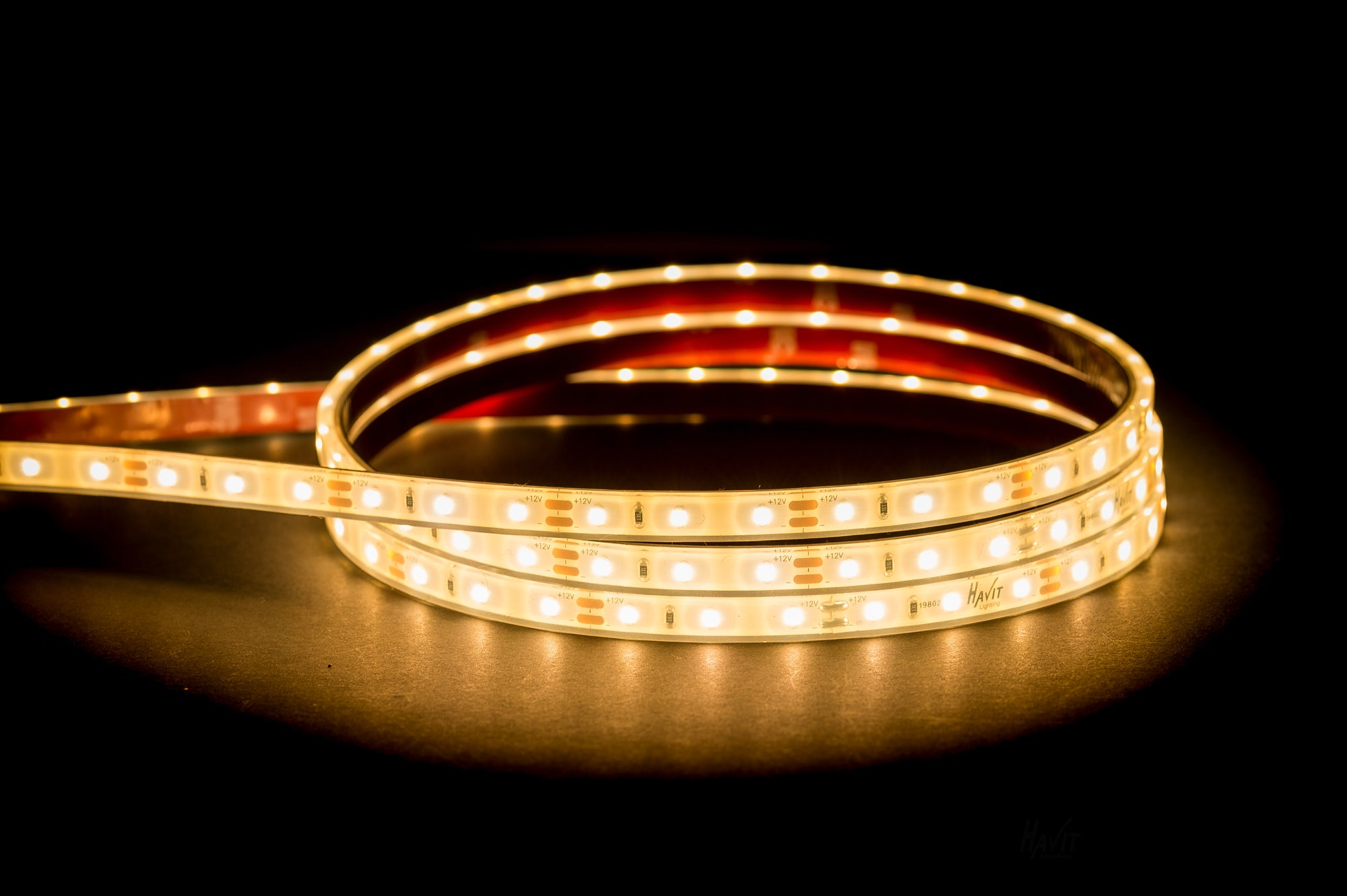 HV9723-IP67-60-3K - 4.8w IP67 LED Strip 3000k
