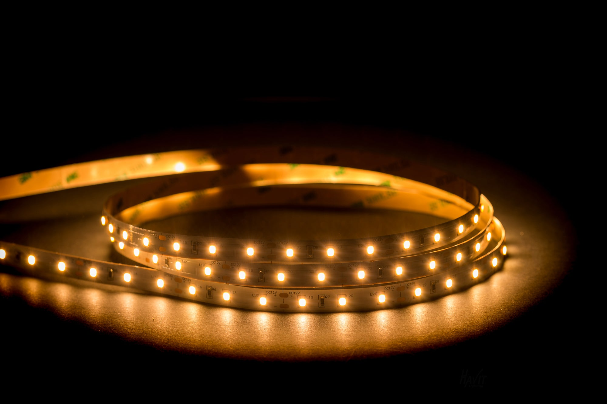 HV9783-IP20-60-3K - 14.4w IP20 LED Strip 3000k