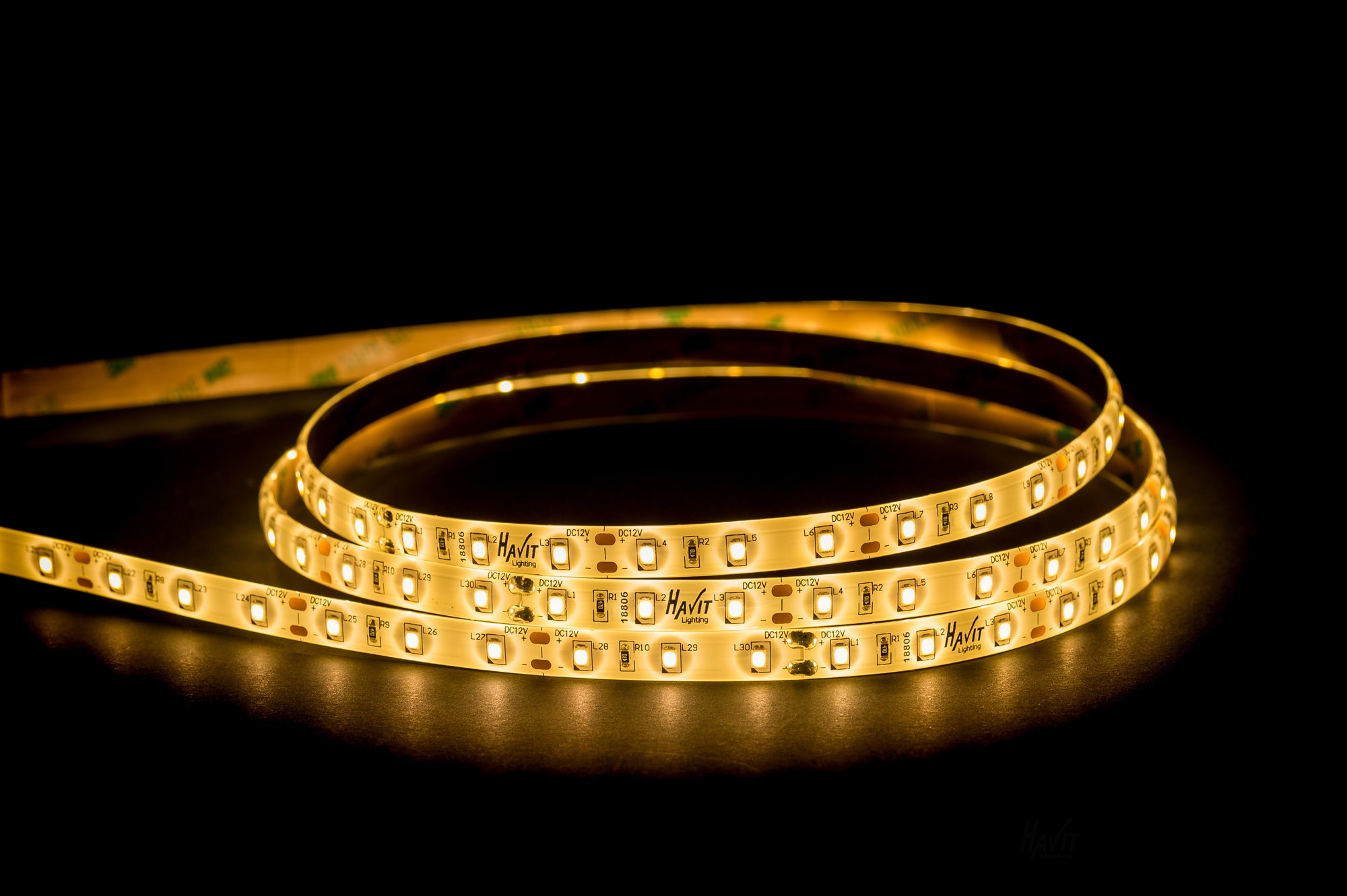 HV9783-IP54-60-3K - 14.4w IP54 LED Strip 3000k