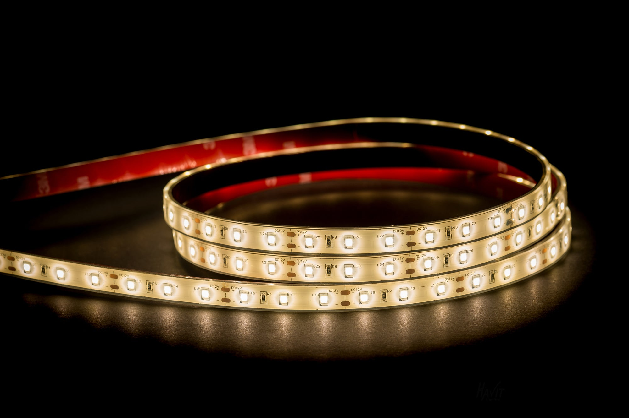 HV9783-IP67-60-4K - 14.4w 12v DC IP67 LED Strip 4000k
