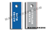 Aluminum Backed Plain Jane X-Ray Markers.  Choose your colors