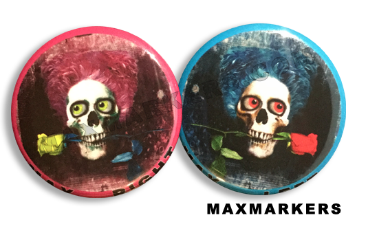 Cotton Head Skull X-Ray Markers