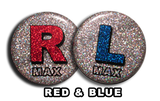 Disco Red & Blue X-Ray Markers