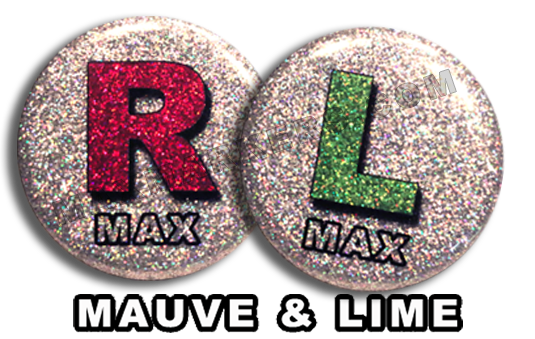 Mauve & Lime X-Ray Markers