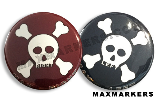 Skull and Crossbone X-Ray Markers