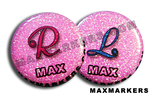 Disco Cute Script X-Ray Markers