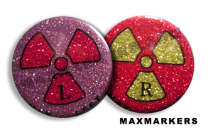 Disco Glitter Rad Girl X-Ray Markers