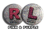 Disco Pink & Purple X-Ray Markers