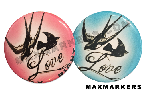 Love Birds X-Ray Markers