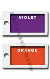 POSITIONAL -  Plastic Backed Plain Jane X-Ray Markers.  Choose your colors
