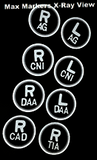 Poker Chip X-Ray Markers