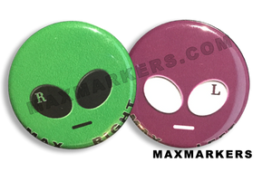 Alien Head X-Ray Markers
