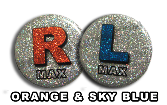 Disco Orange and SkyBlue X-Ray Markers