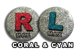 Disco Coral & Cyan X-Ray Markers