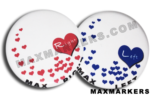 Floating Hearts X-Ray Markers