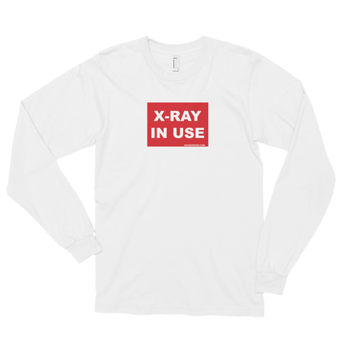 X-Ray in Use Long sleeve t-shirt (unisex)