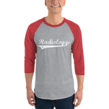 x-ray shirt, 3/4 sleeve raglan radiology shirt