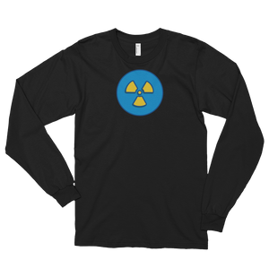 Long sleeve t-shirt (unisex) - X-Ray Rad Symbol Blue