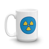 Mug - I'M SO RAD with blue Rad symbol