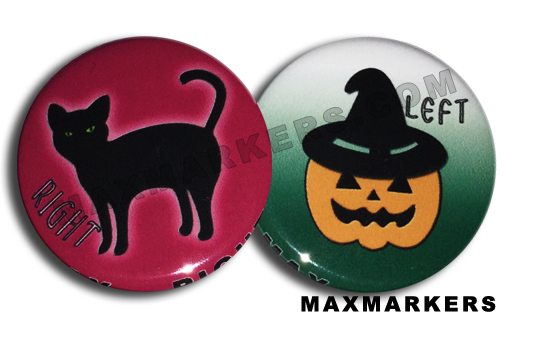 Pumpkin Cat X-Ray Markers