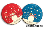 Snowman X-Ray Markers