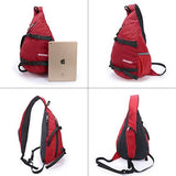 ENKNIGHT  Chest Bag  Sling Bag Unbalance Backpack Hiking Daypack