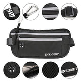 ENKNIGHT Big RFID Money Belt for Travel Running Waist Pack Fanny Pack