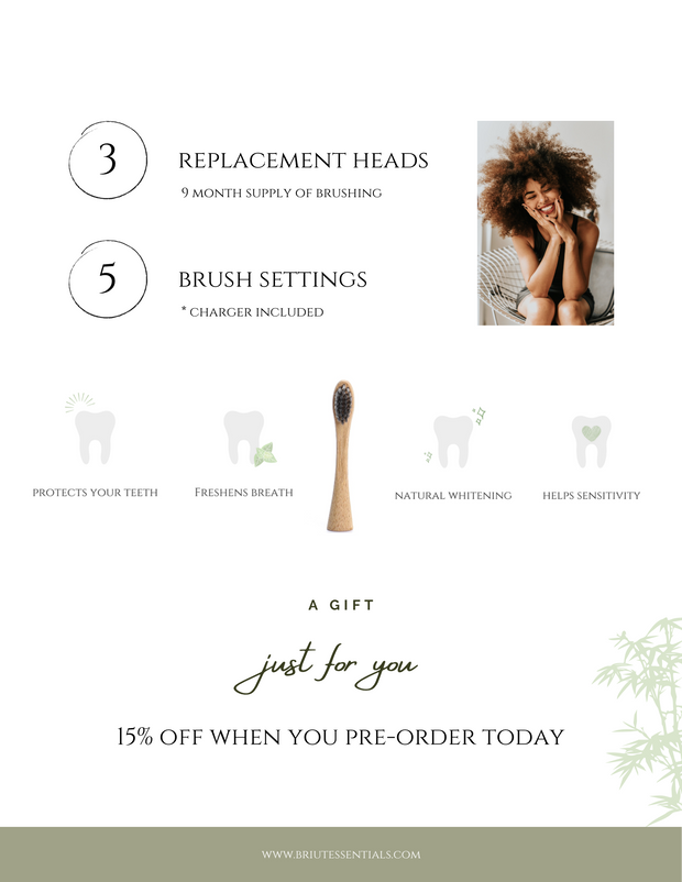 Electric Bamboo Toothbrush 1