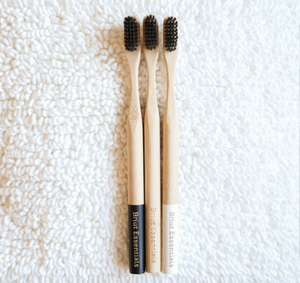Bamboo Toothbrushes (4 Pack Assorted)