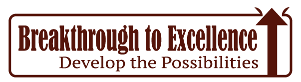 Breakthrough to Excellence: Develop the Possibilites conference logo