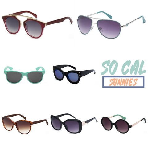SoCal Sunnies Women's Affordable and Stylish Sunglasses
