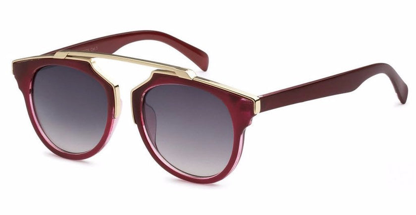 Palm Springs Women's Modified Classic Journeyer Fashion Sunglasses (more colors available)