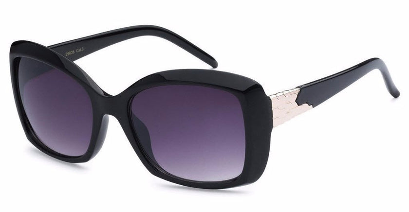 Chic square-frame women's fashion sunglasses, inspired by the charming town of Redlands, CA | socalsunnies.com