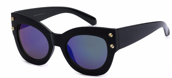City of Angels Women's Cat Eye Mirror Lens Fashion Sunglasses (more color options)