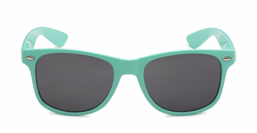 Teal Retro Rewind Unisex Sunglasses- a portion of the proceeds will be donated to Camp Conrad Chinnock, a Type 1 Diabetes camp for kids | SoCalSunnies.com