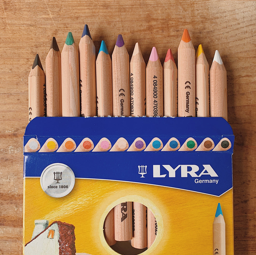 Lyra Ferby | Triangular Color Pencil Set/12