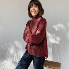 Habitat | Confetti Sweater in Sangria
