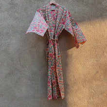 Pink Cosmo Cotton Robe