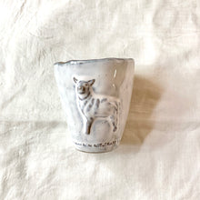 Ceramic Sheep Tumbler
