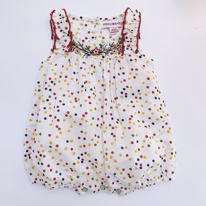 April Cornell | Confetti Bubble Romper