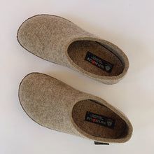Load image into Gallery viewer, Haflinger | Emils Boiled Wool Slipper in Earth