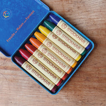 Stockmar | Set of 8 Beeswax Stick Crayons in Waldorf Colors