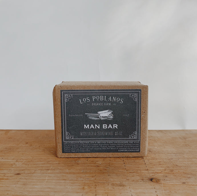 Los Poblanos | Man Bar Soap