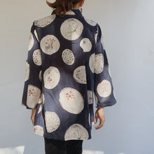 Mona Lisa | Dandelion Print Button Down Top in Navy