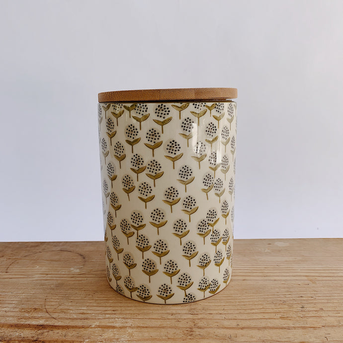 Large Stoneware Canister
