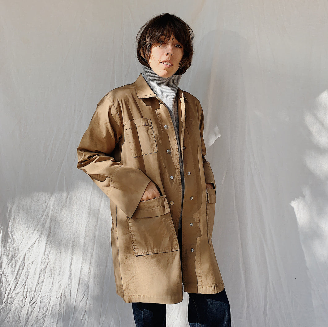 Eleven Stitch | Chore Coat in Biscuit