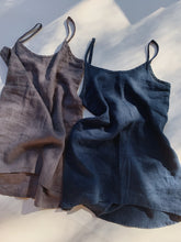 Flax | Long Camisole in Pewter