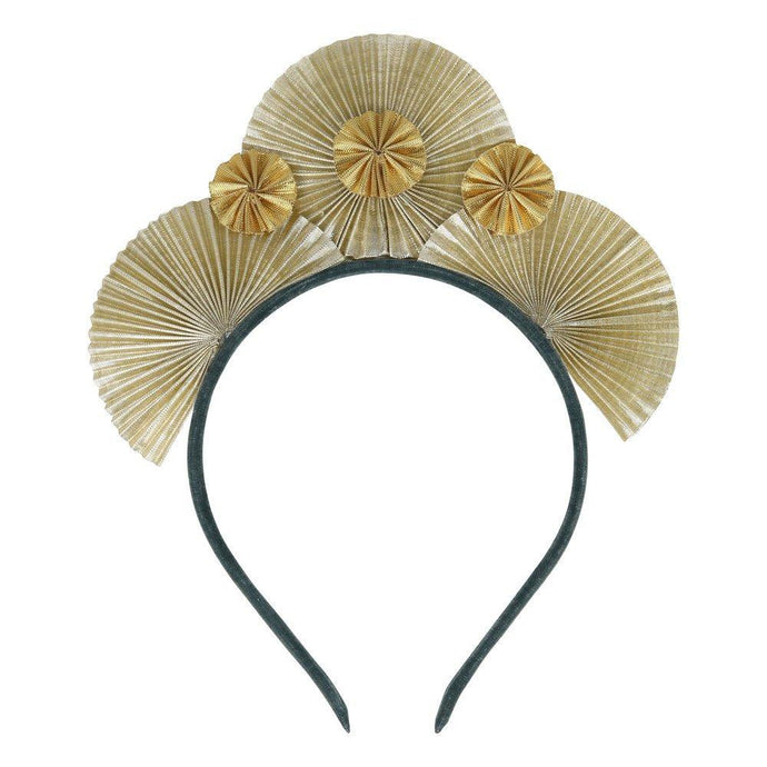 Meri Meri | Metallic Fan Headband