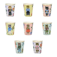 Load image into Gallery viewer, Meri Meri | Nathalie Lete Flora Cat Party Cups