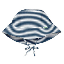 Load image into Gallery viewer, Bucket Sun Hat | Navy Stripe